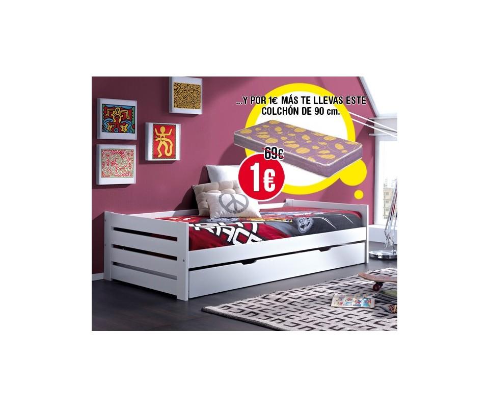 Comprar muebles a un euro precio camas nido - Muebles a 1 euro ...