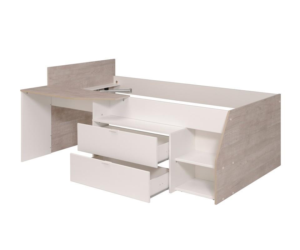 cama nido y escritorio barato comprar camas nido en On cama nido con escritorio incorporado