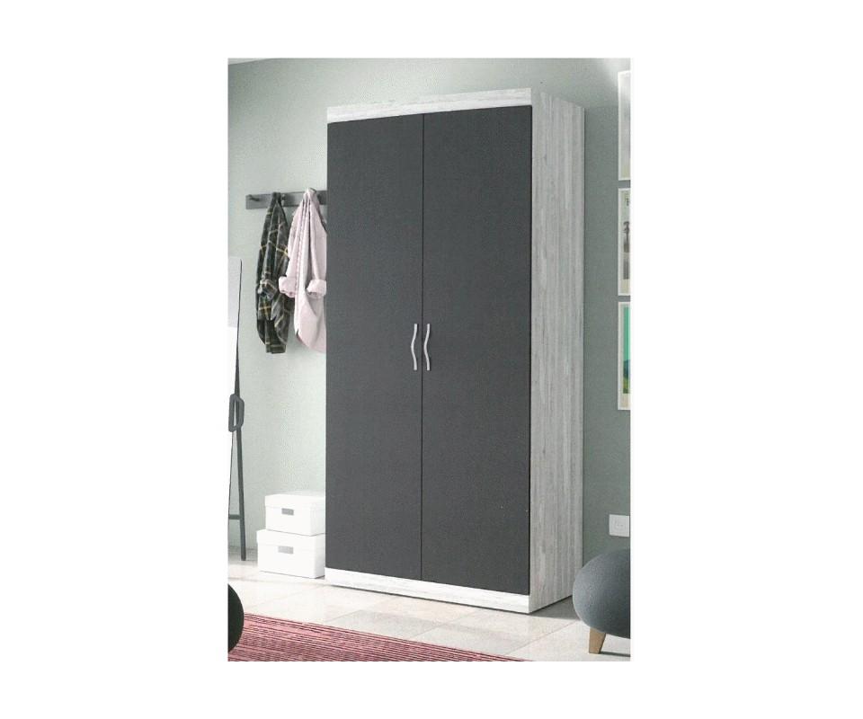 Comprar armario dos puertas calibri - Puertas de armario ...