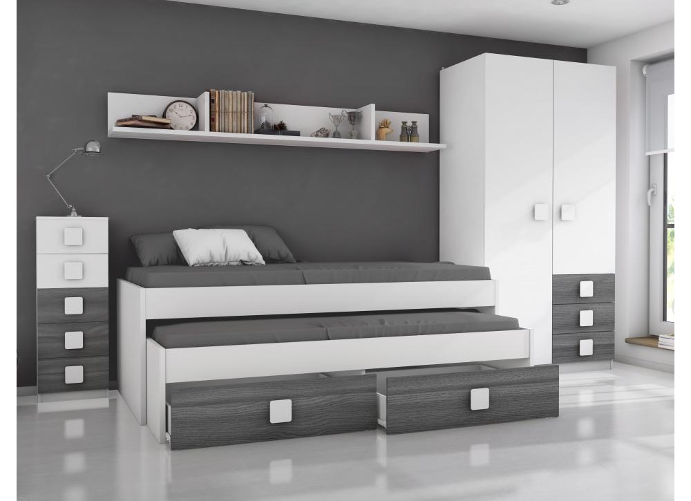 Comprar habitaci n juvenil rachel precio conjuntos - Habitaciones juveniles muebles tuco ...