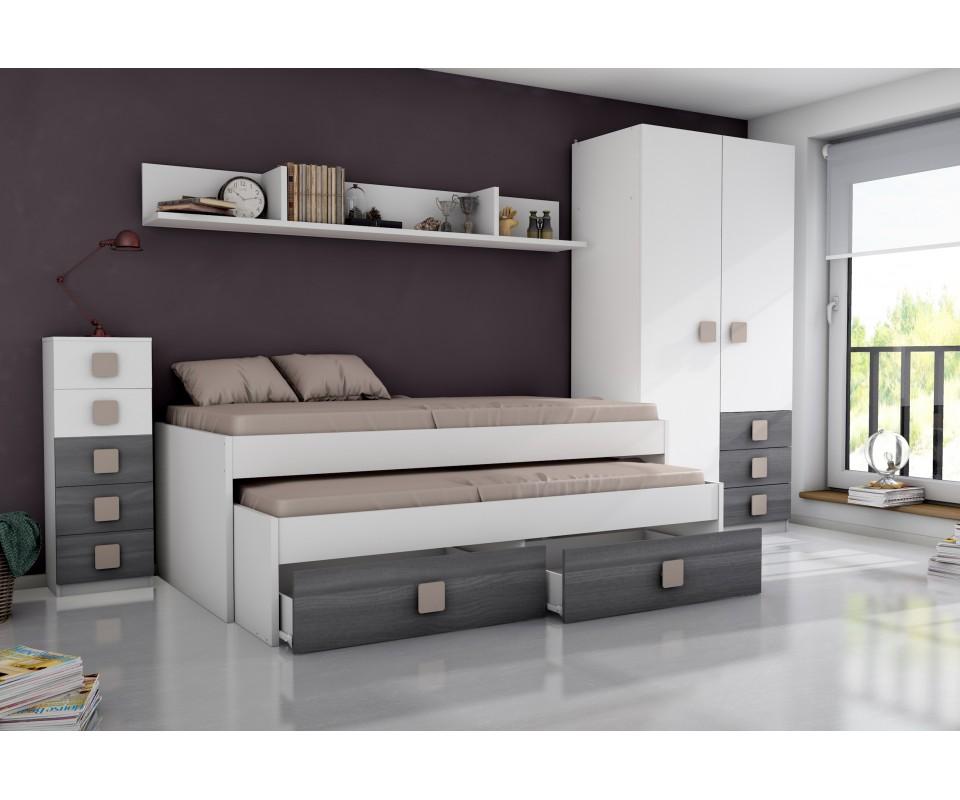 Comprar habitaci n juvenil rachel precio conjuntos dormitorios juveniles - Recibidores tuco ...