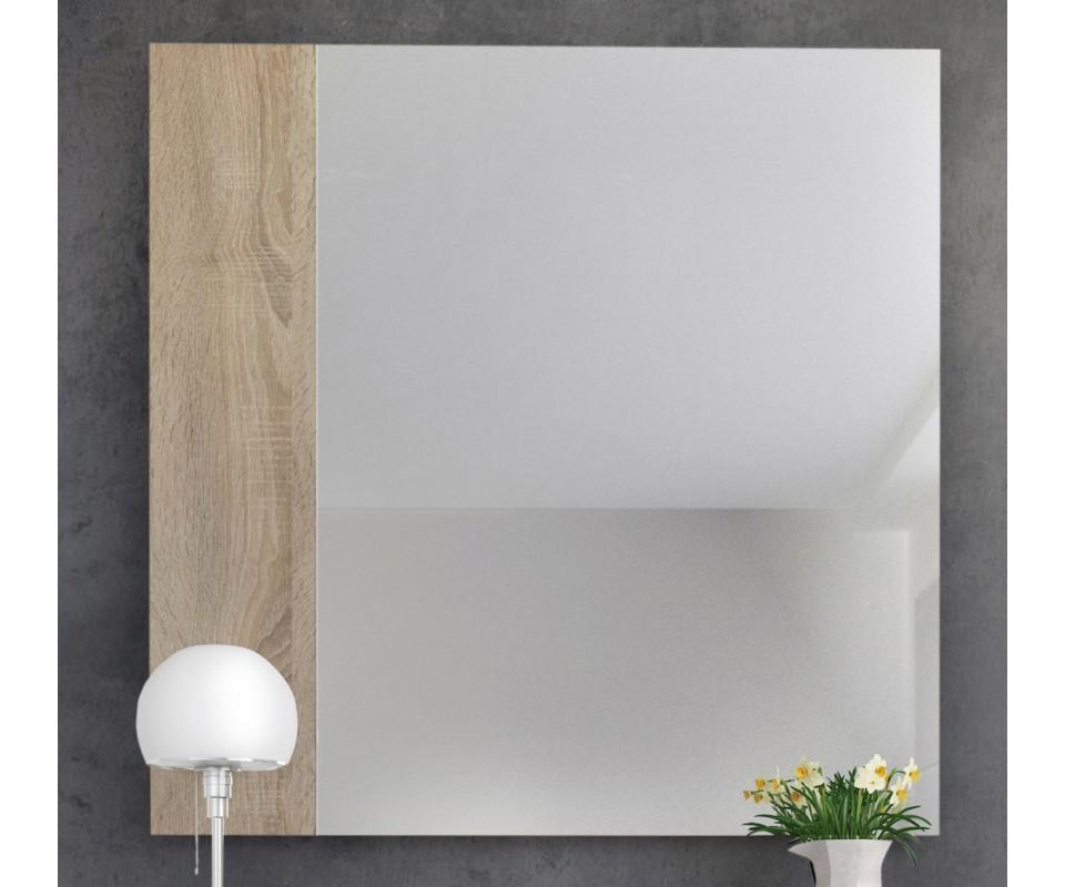 Recibidores baratos recibidor rstico con espejo mesa for Espejos grandes baratos