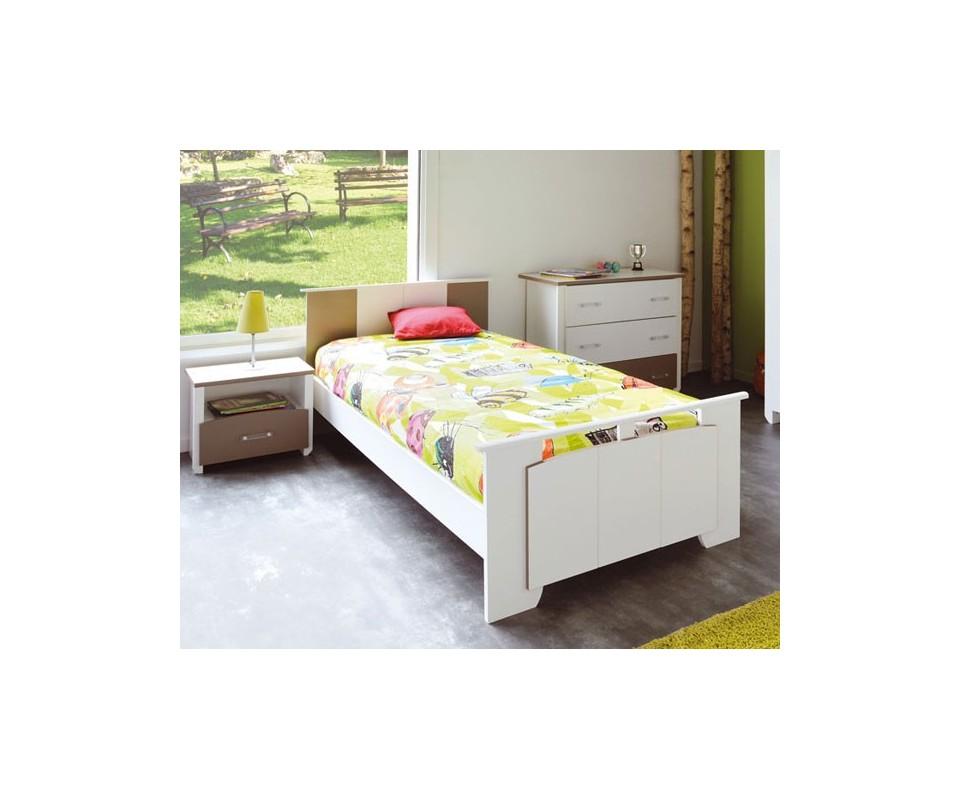 Comprar cama individual barata precio juveniles - Cama individual con cajones ...