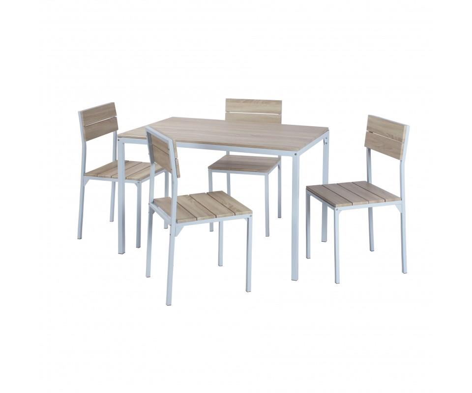 Comprar mesa de comedor ebro white precio mesas for Mesas y sillas de oficina