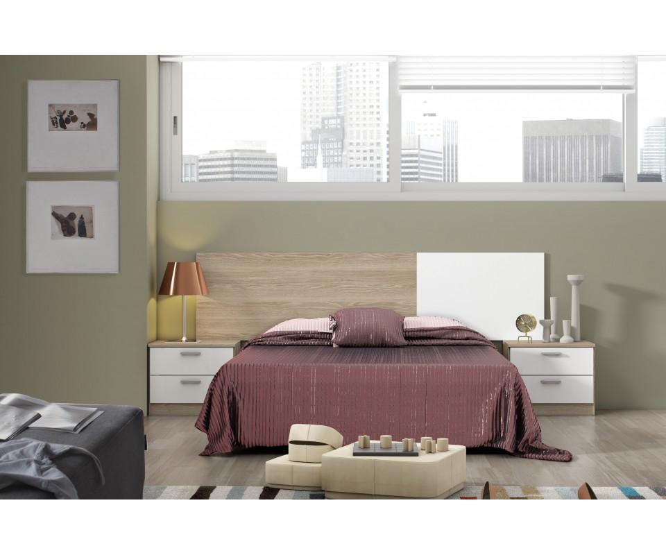 Comprar cabecero y mesillas cyprus precio conjuntos dormitorios juveniles - Cabecero y mesillas ...