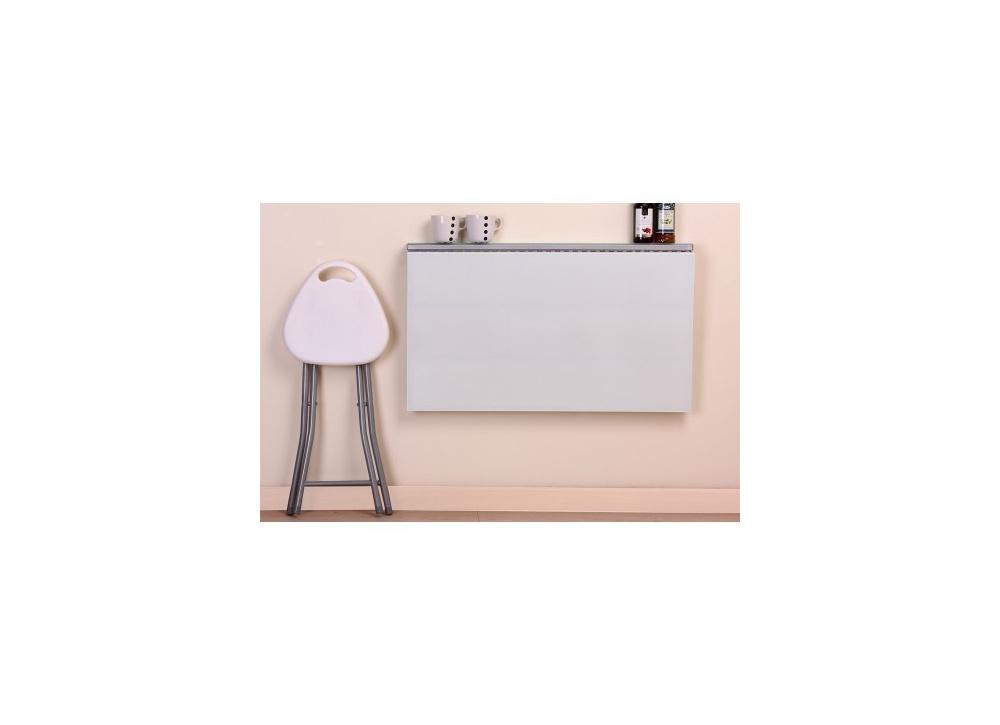 Mesa de cocina con taburetes blanco Bechi