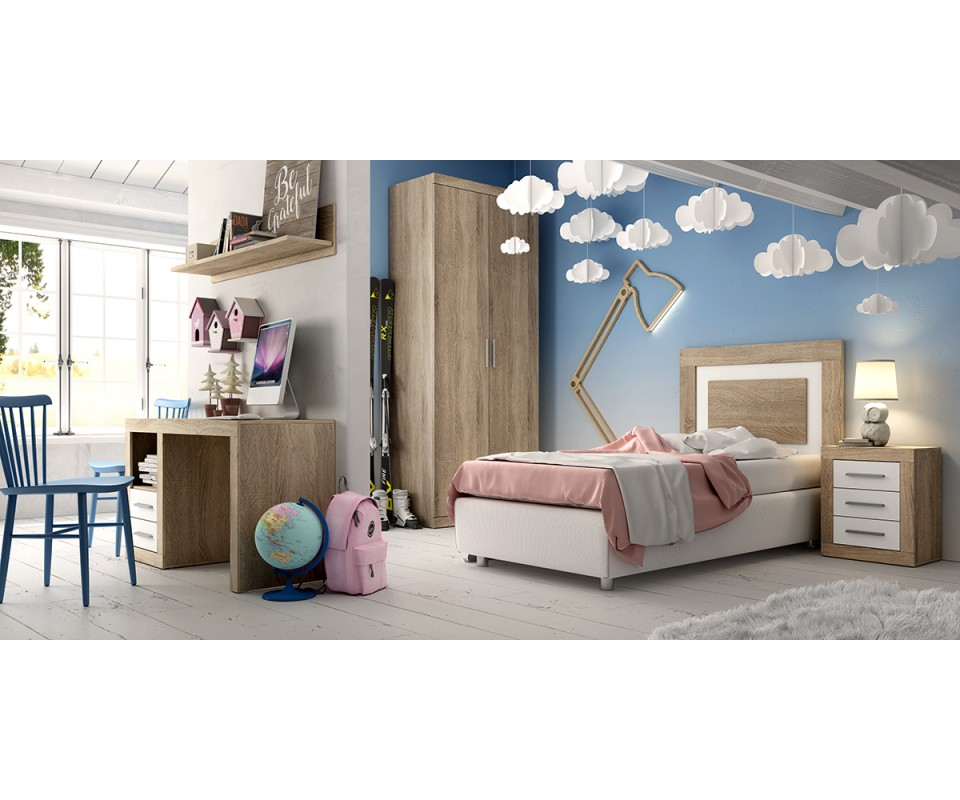 Cabeceros y camas juveniles baratos, Muebles TUCO - Muebles TUCO