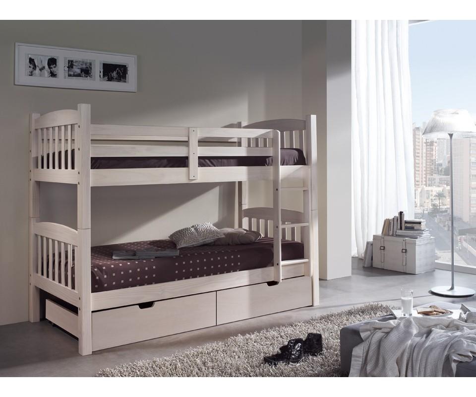 Comprar litera de madera barata precio literas en muebles - Literas precios modelos ...