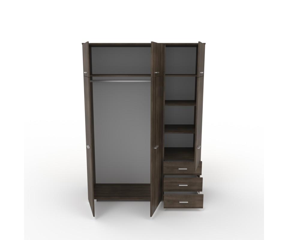 Comprar armario tres puertas con altillo alax precio for Puertas con precios