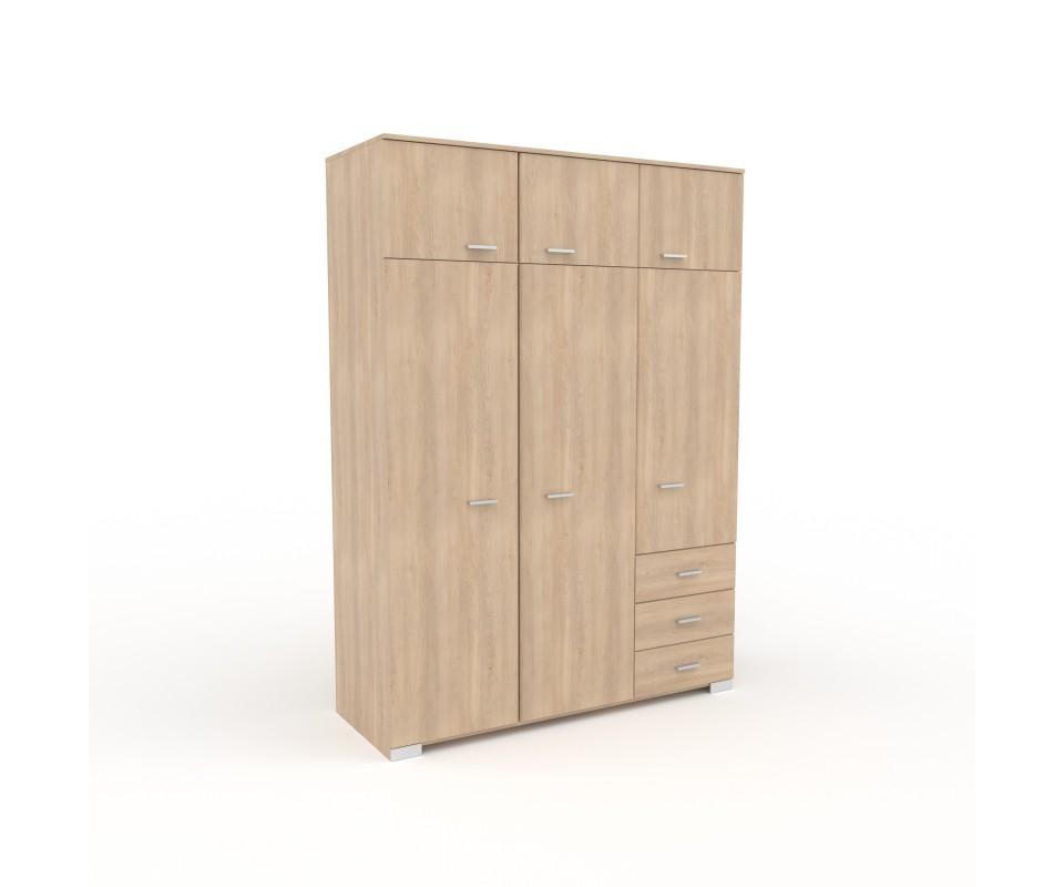 Comprar armario tres puertas con altillo alax precio - Armarios tres puertas ...