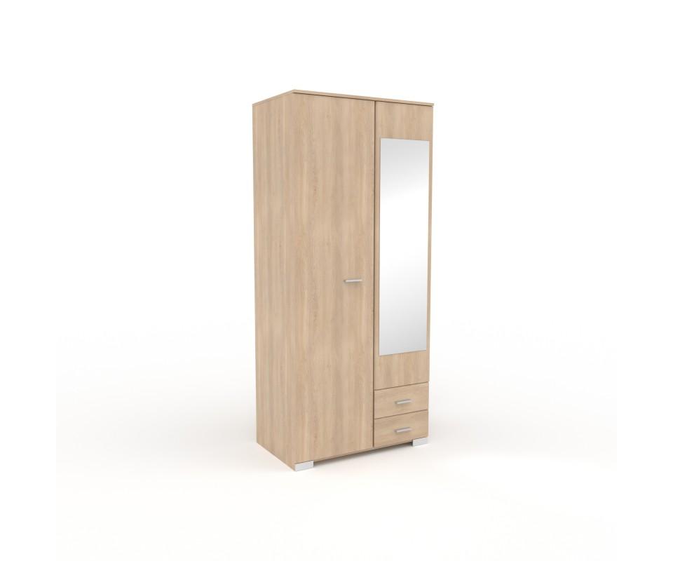 Comprar armario dos puertas con espejo alax precio - Armarios on line ...