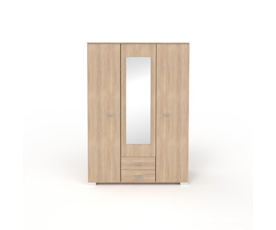 Comprar armario tres puertas con espejo alax precio - Armario con espejo ...