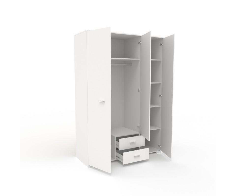 Comprar armario tres puertas con espejo alax precio - Armarios on line ...
