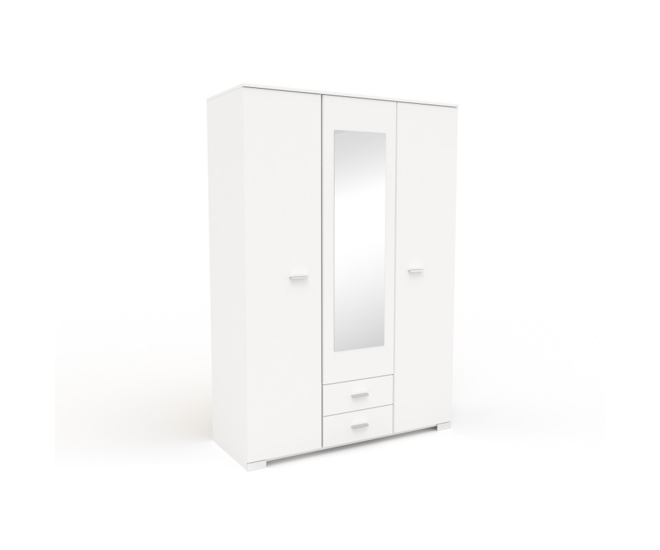 Comprar armario tres puertas con espejo alax precio for Puertas con precios