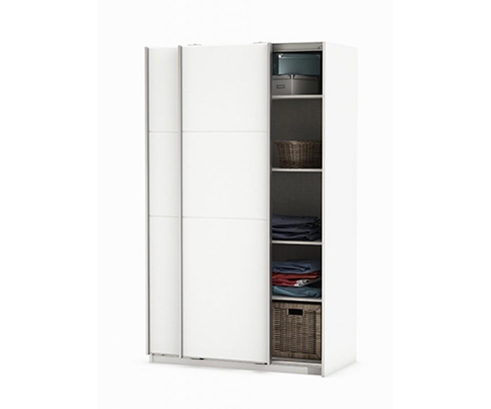 Comprar armario puertas correderas blanco strike - Armario 2 puertas correderas ...