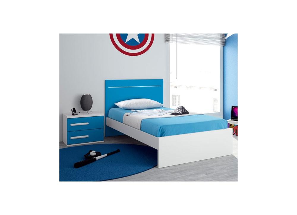 Comprar cama individual oferta precio juveniles for Camas en oferta