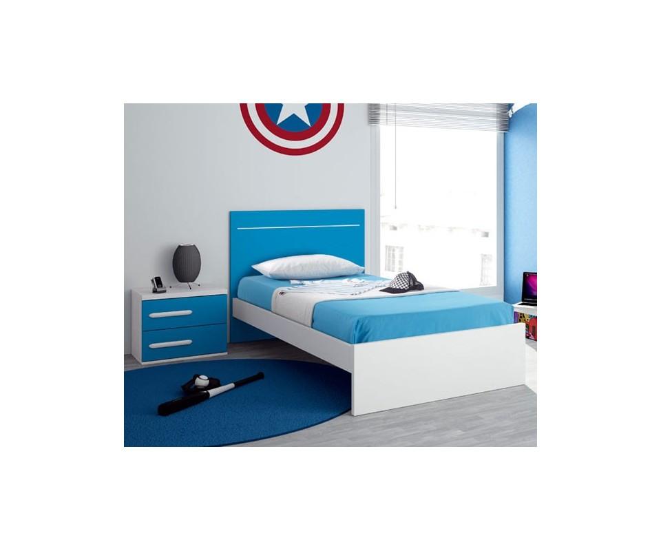 Comprar cama individual oferta precio juveniles - Camas juveniles precios ...