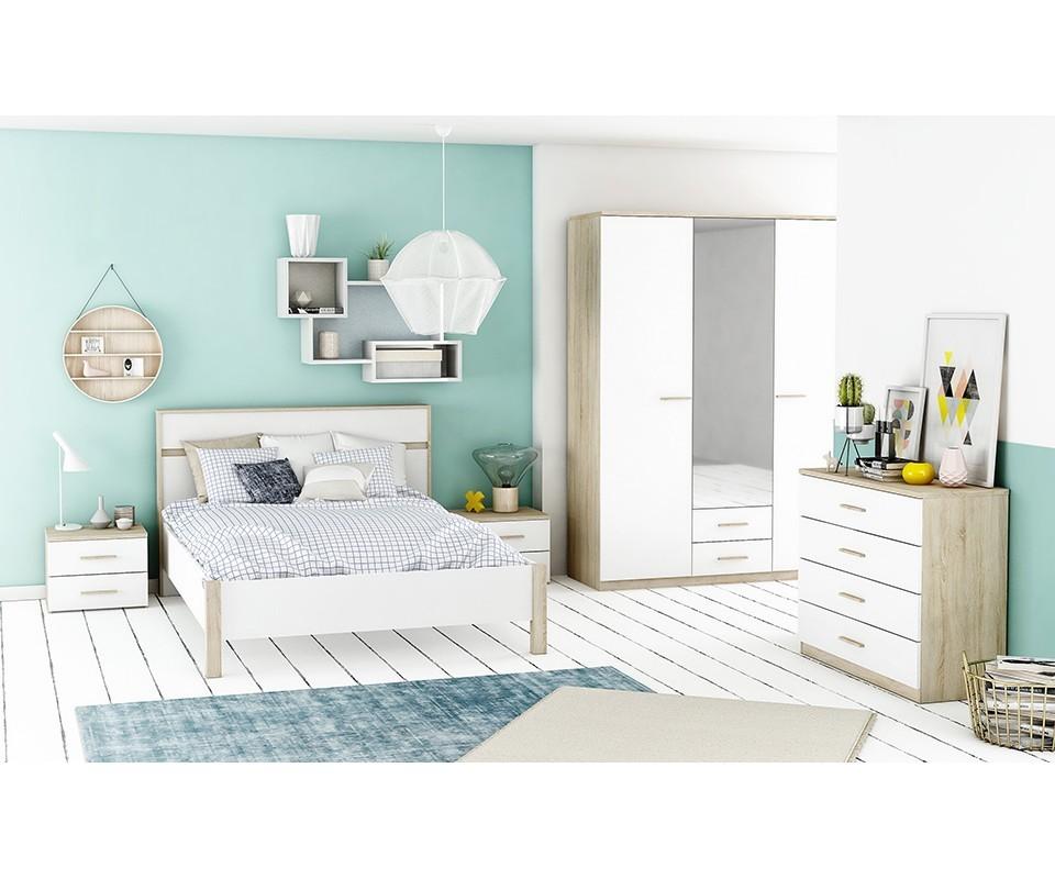 Comprar armario con espejo y 3 puertas armarios baratos - Puertas y armarios ...