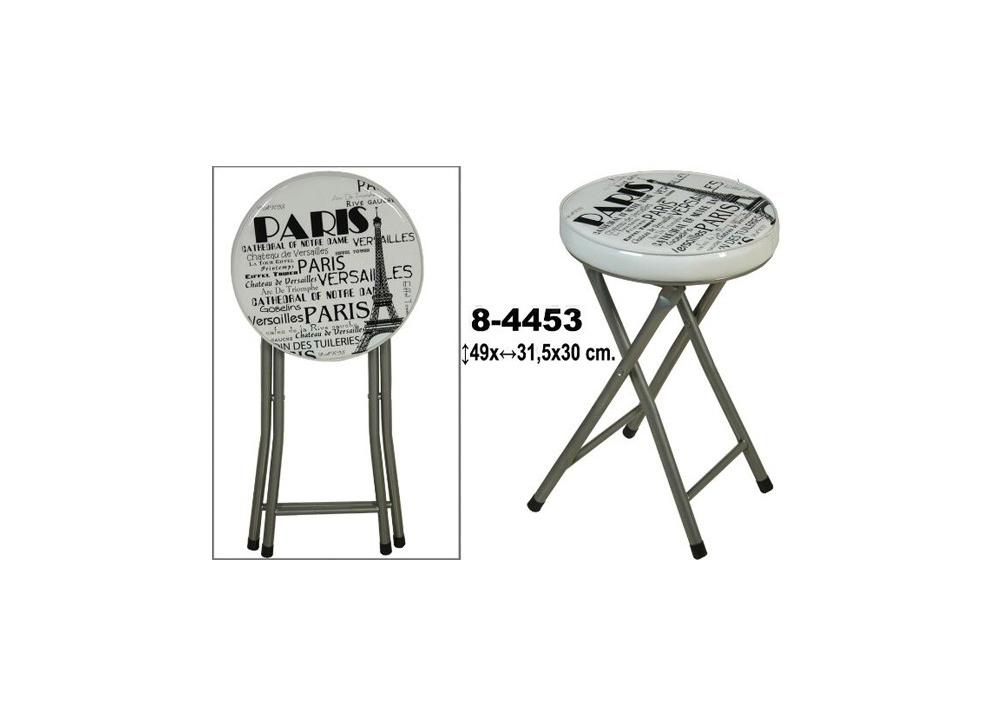 Comprar taburete plegable parisien precio sillas de - Taburetes de cocina plegables ...