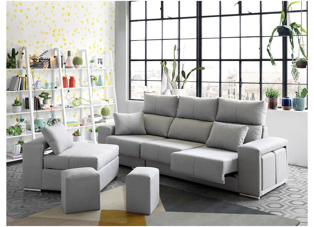 Comprar Sofá con Chaise Longue Leeds | Precio de Chaise Longues Tuco.net