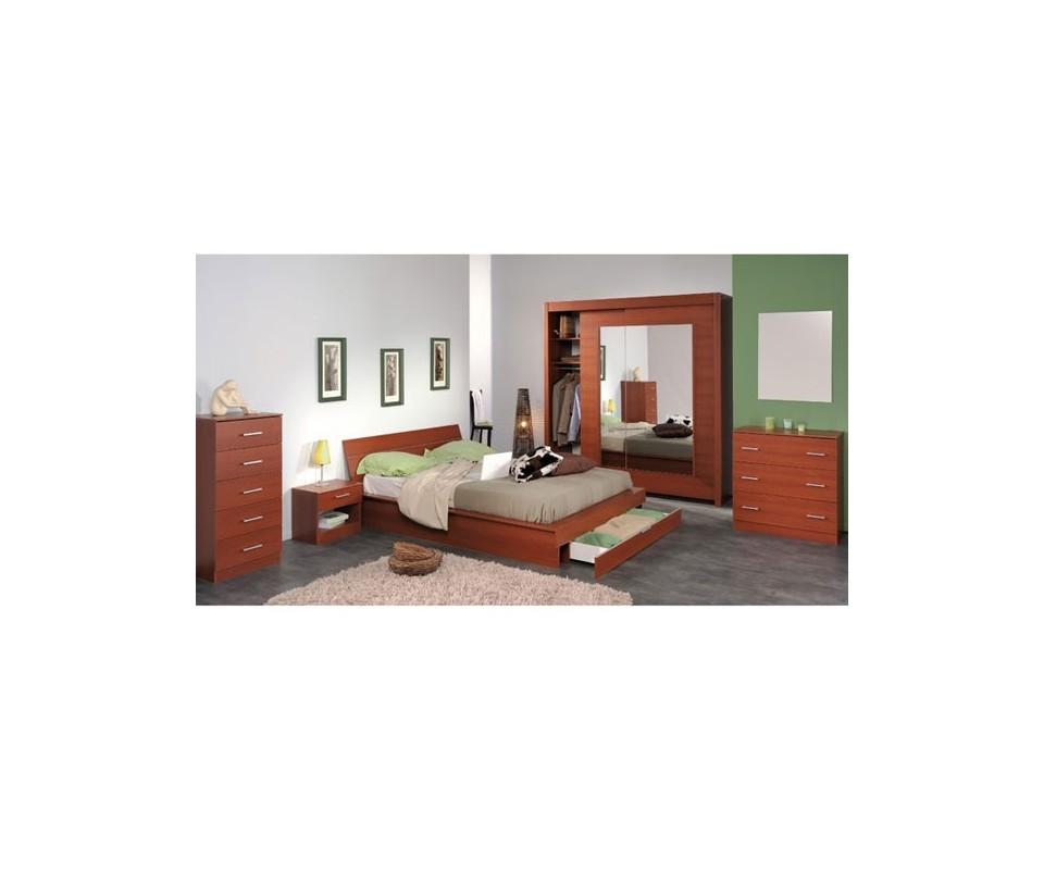 Comprar sinfonier color cerezo precio dormitorios - Recibidores tuco ...