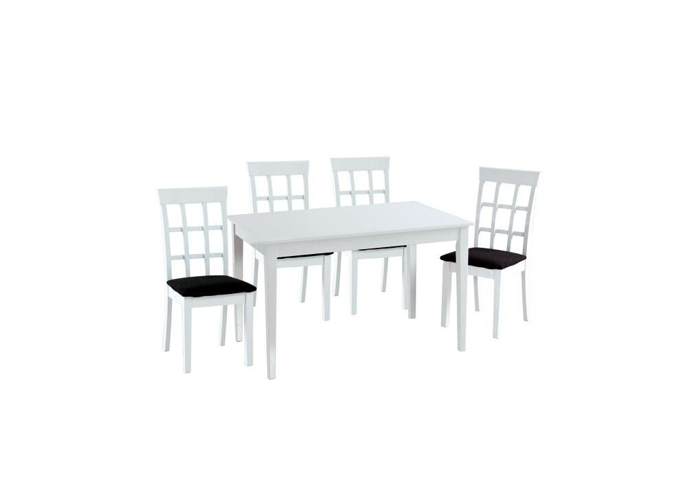 Comprar mesa comedor blanca precio mesas y sillas - Mesa blanca comedor ...