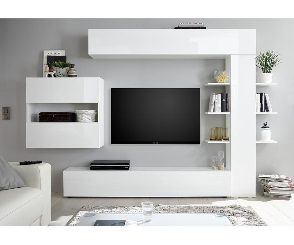 Comprar mueble de dise o italiano para sal n en blanco - Muebles modernos de diseno ...