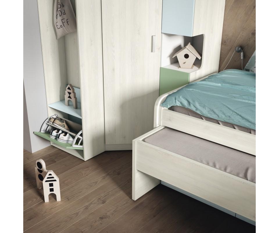 Comprar cama nido con cajones baratos precio camas for Cama nido precios baratos