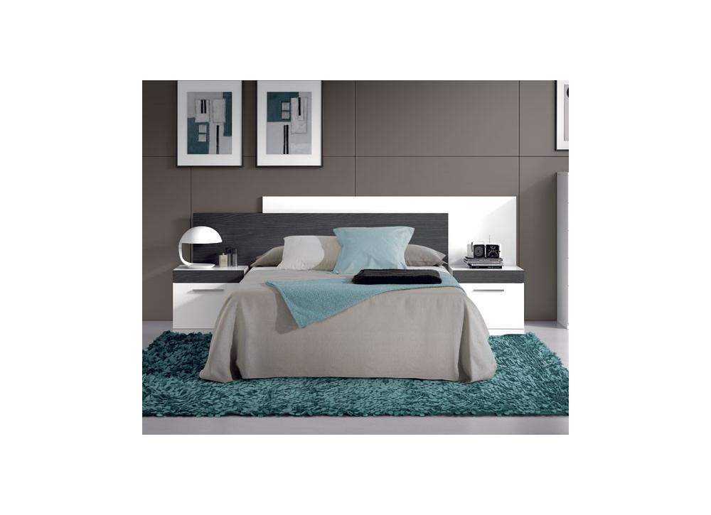 Comprar Dormitorio Moderno Blanco Y Negro Oferta | Precio ...
