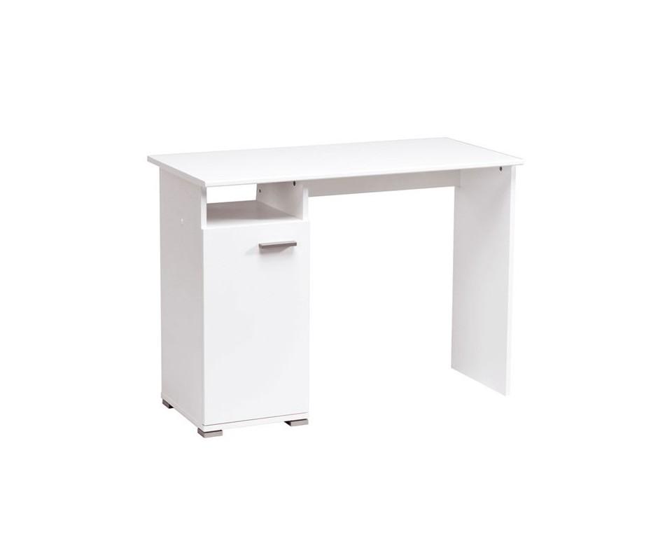 Comprar mesa estudio blanca oferta precio muebles auxiliares - Mesa de estudio blanca ...