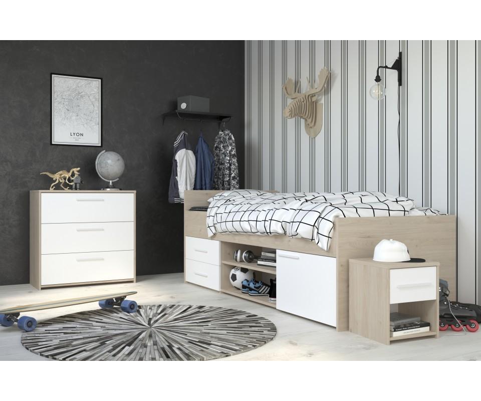 Comprar cama nido con cajones barata precios camas - Cama nido con cajones ...