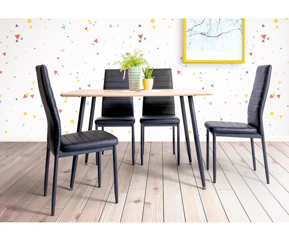 Comprar silla tapizada|Sillas de comedor Baratas Muebles ...