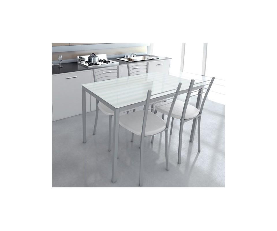 Comprar mesa cocina precio mesas y sillas for Mesa cristal tuco