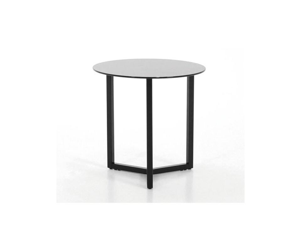Comprar mesita auxiliar metal y cristal precio muebles for Mesa cristal tuco
