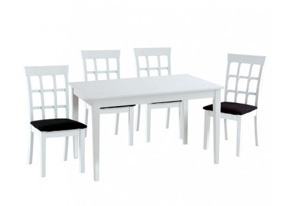 Comprar conjunto mesa comedor y 4 sillas precio mesas y - Conjunto mesa y sillas comedor ...