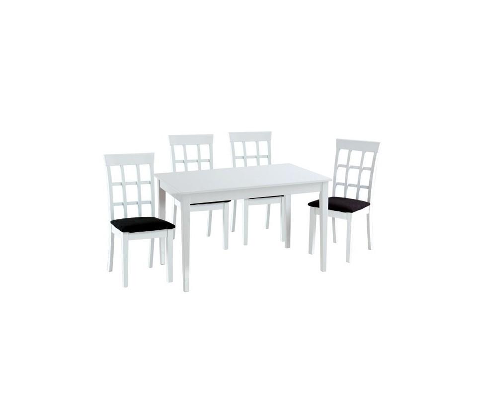Comprar conjunto mesa comedor y 4 sillas precio mesas y - Mesa comedor y sillas ...