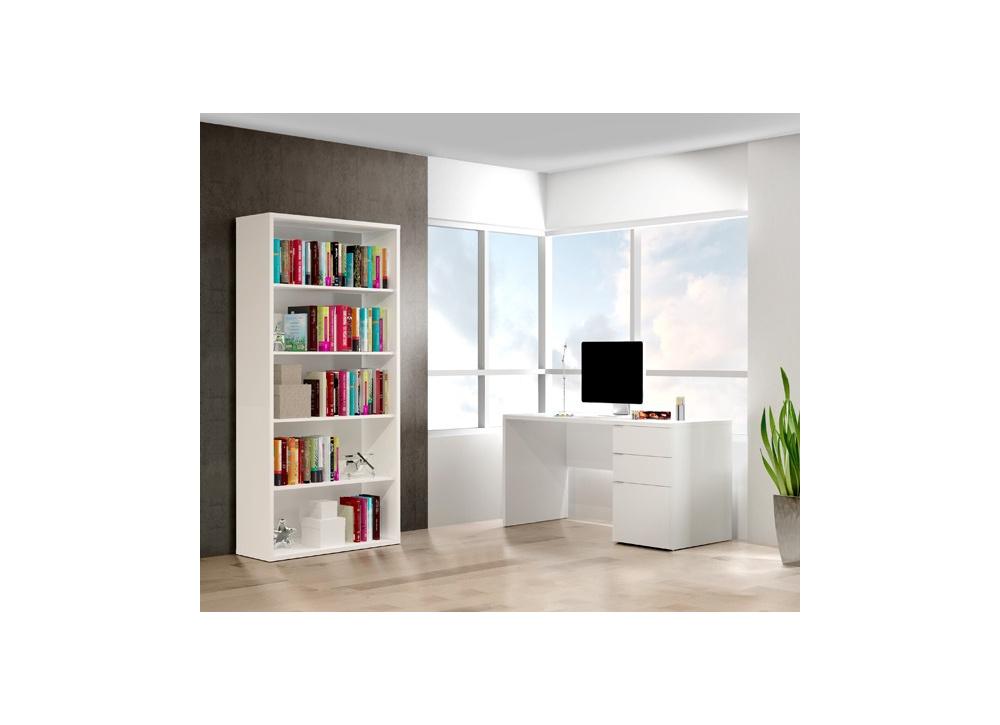 Comprar mesa estudio estanter a precio juveniles for Estanteria zapatero