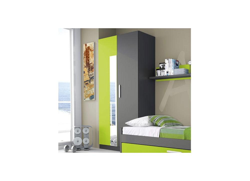 Comprar armario 2 puertas y espejo precio armarios for Armario puerta espejo